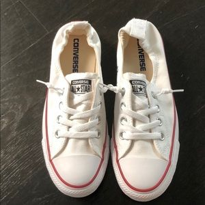 New with box - white converse all stars
